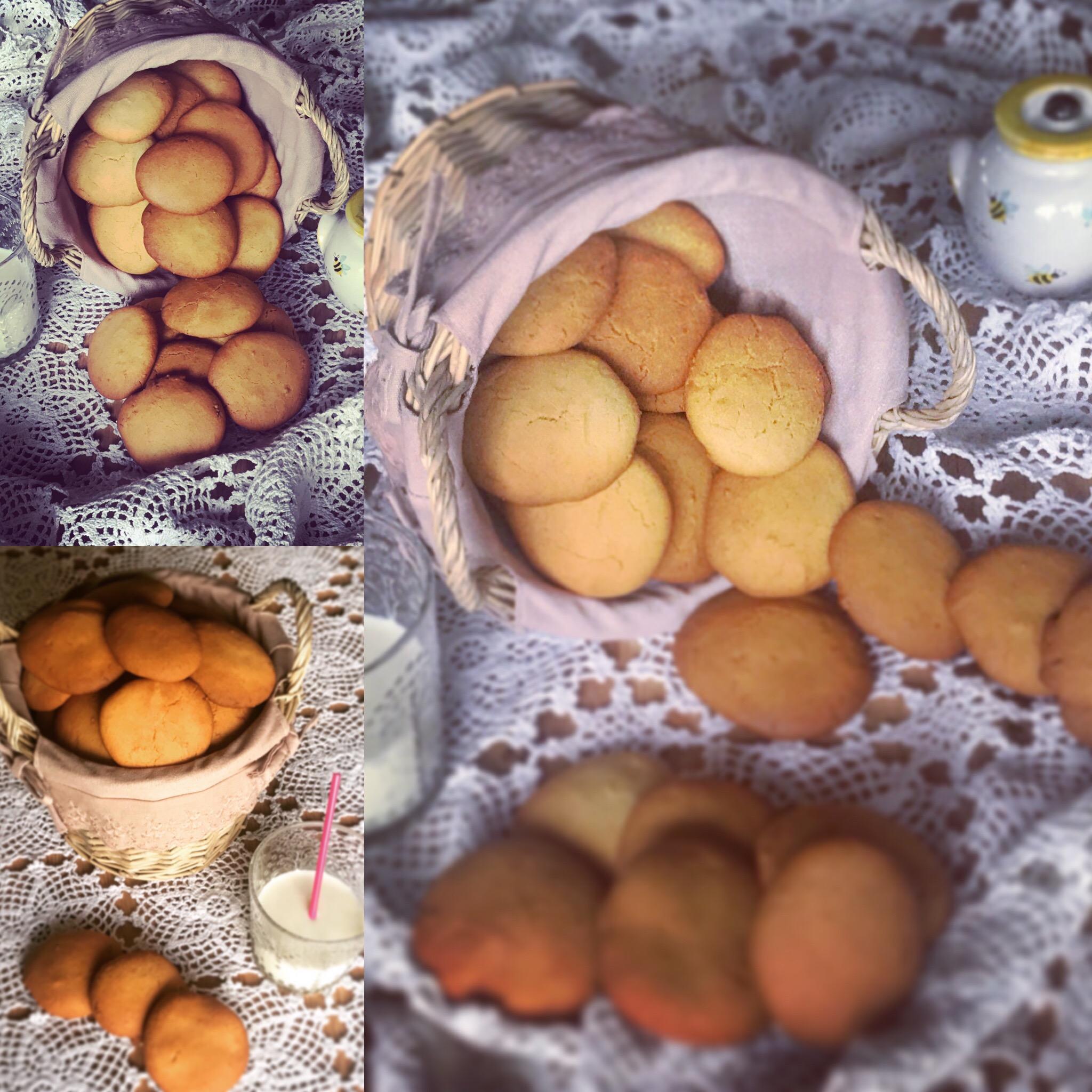 Tris di foto biscotti