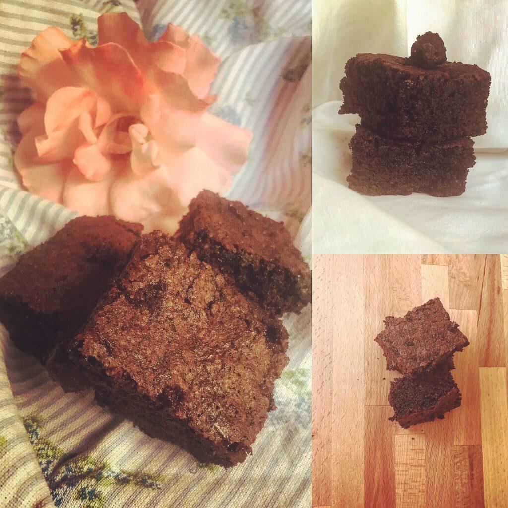 Tris di foto brownies