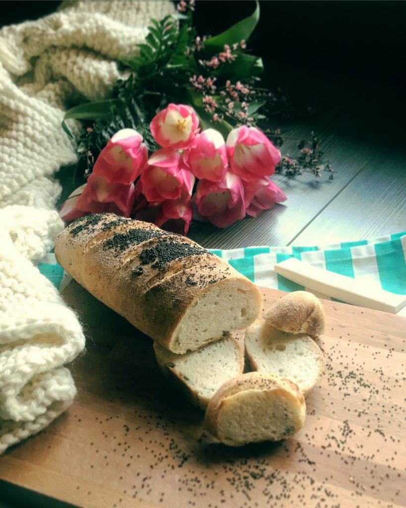Pane francese a lunga lievitazione