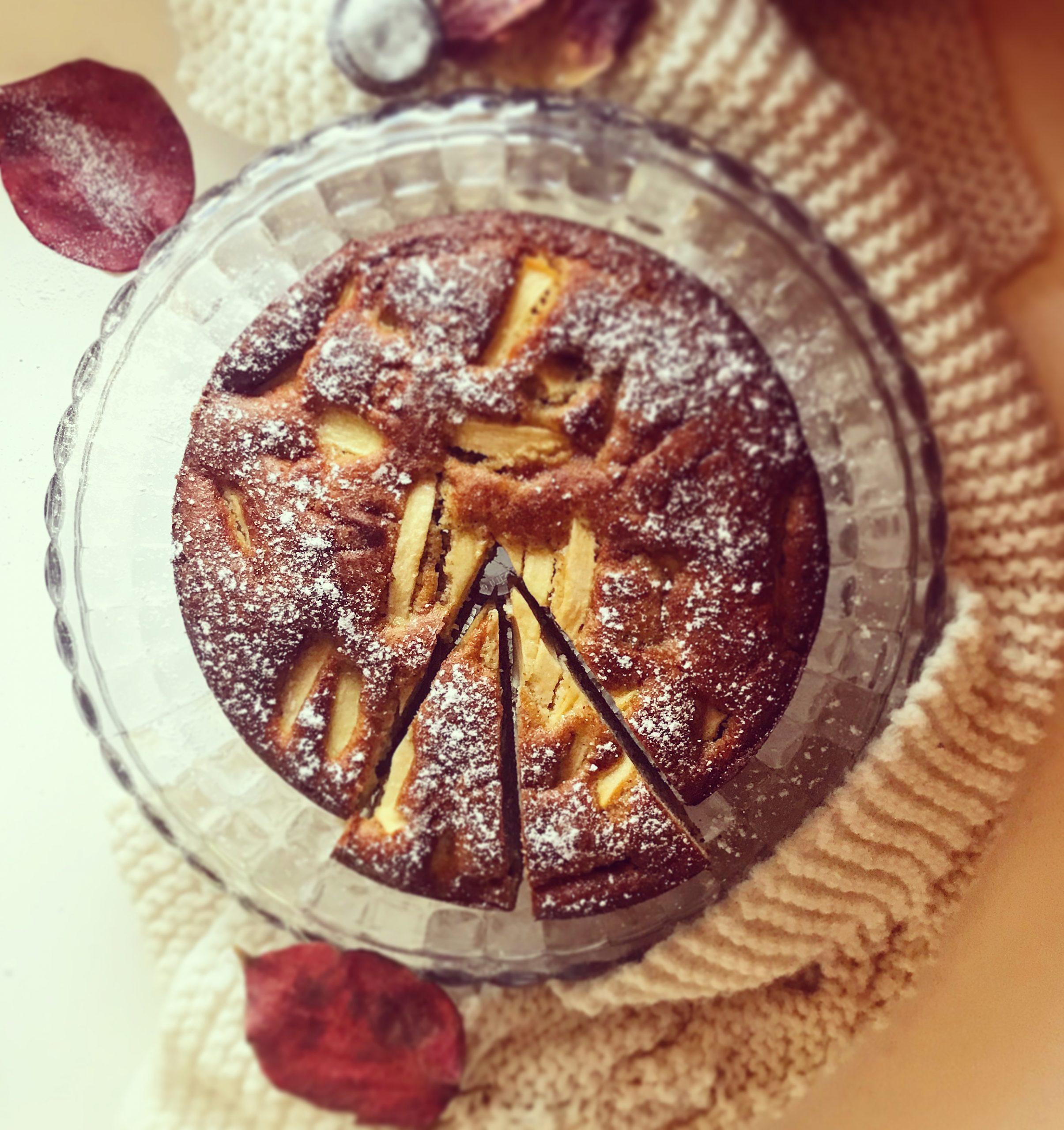 Torta di mele e mascarpone senza glutine